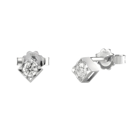 Bliss earrings in white gold with diamonds ct 0,02 col. Dream 20077226