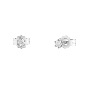 Bliss earrings in white gold with diamonds ct 0,04 Ref. 20084219