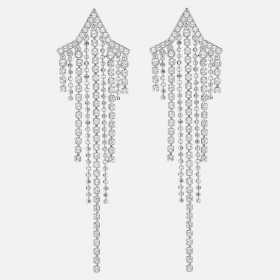 Swarovski Earrings Tassell Fit