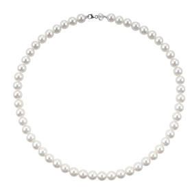 Bliss necklace pearl river mm 5/5,5 and white gold collection. Paradise Ref. 20068116