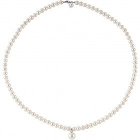 Bliss necklace, pearl paradise white gold with pearl central mm7 Ref. 20068738