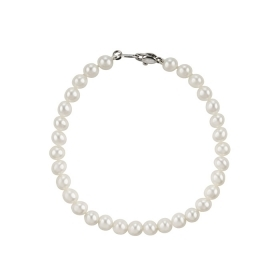 Salvini Bracelet gold with pearl river and the bright 0.005 ct Ref. 20061034