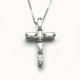 Salvini Necklace with cross di