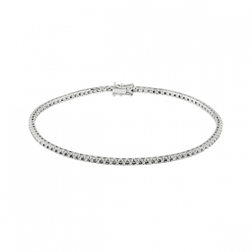 Salvini tennis Bracelet orobianco and diamonds ct 0,25 Ref. 20069173