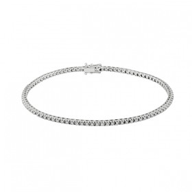 Salvini tennis Bracelet orobianco and diamonds ct 0,45 Ref. 20069176