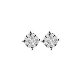 Salvini Earrings white gold an