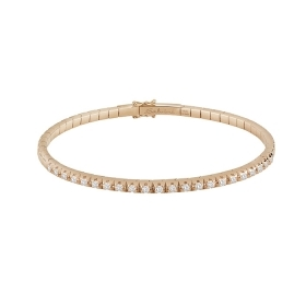 Salvini Bracelet pink gold with diamonds ct 0,55 Ref. 20071541
