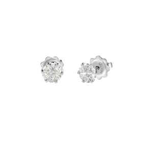 Salvini Earrings point light in white gold and diamonds ct 0,55 Ref. 20082855