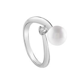 Salvini Ring white gold with p