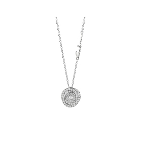Salvini Collierino white gold and diamonds ct 0.50 to collection. Daphne Ref. 20075168