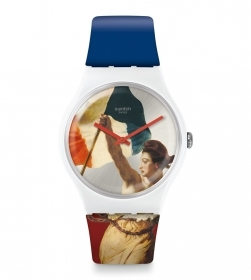 SWATCH Watch Only Time Swatch x Louvre SUOZ316