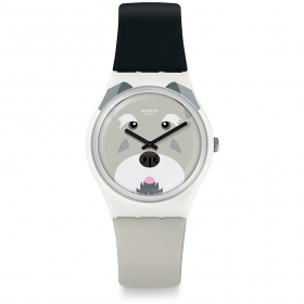 SWATCH watch solotempo women's dial design dog GW210