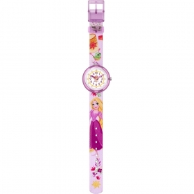 FLIK FLAK WATCH GIRL DISNEY RAPUNZEL REF. FLNP028