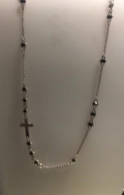 ZANCAN Necklace silver rosary