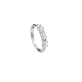 SALVINI Ring with diamonds 5 stones ct 0,76 20085608