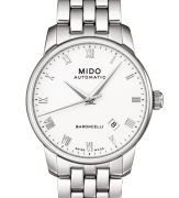 MIDO Watch only time steel man Baroncelli M8600.426.1
