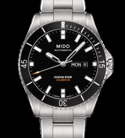 MIDO steel Watch man Ocean Star M026.430.11.051.00