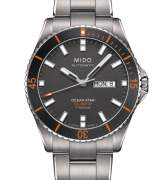 MIDO Watch titanium man, the Ocean Star, quadr. Anthracite M026.430.44.061.00