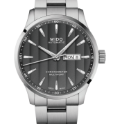 MIDO Watch steel man Multifort quadr. Anthracite M038.431.11.061.00