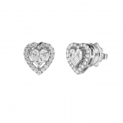 SALVINI Earrings white gold and diamonds ct 0.55 and Collection Magic 20085794