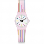 SWATCH WOMAN WATCH PINK MIXING LP155