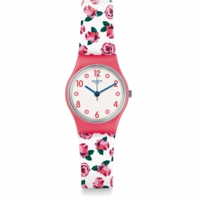 SWATCH WOMAN WATCH STRAP THEME ROSE LP154