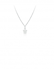 Giannotti Necklace girl or baby Angel in white Gold Ref. NKT300