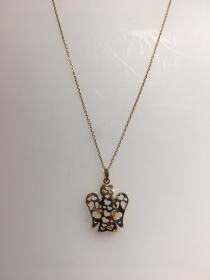 Giannotti necklace with pendant angel yellow gold Ref. NKT295