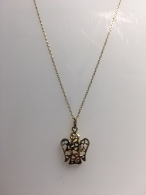 Giannotti necklace with pendant angel small yellow gold Ref. NKT296