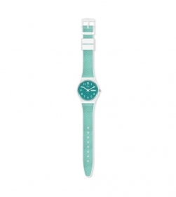 SWATCH unisex watch color stra