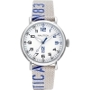 Nautica Watch Only Time man strap beige fabric NAPLSS014