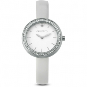 OPS Watch Only Time Woman white strap OPSPW-565-2200