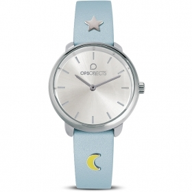 OPS woman Watch strap celestial charm moon and star OPSPW-616-2700
