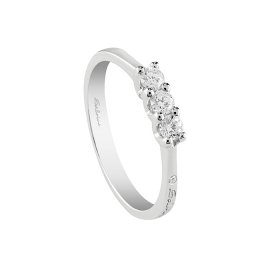 SALVINI trilogy ring with diamonds ct 0,54 20076233