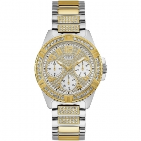 Guess woman Watch stainless steel case and strap with crystals Ref. W1156L5