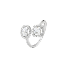 Bliss silver ring with cubic zirconia Ref. 20085650