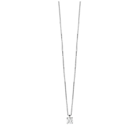 Bliss, collier en argent et zircon 7 mm 20084481