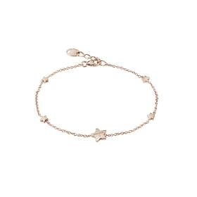 Salvini bracelet pink gold with star symbol with brilliant 20087164