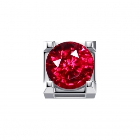 ELEMENTS GRIFFES WHITE GOLD AND RUBY ct 0,05 DCHR7244