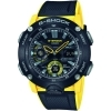 CASIO multifunction watch men strap resin black and yellow GA-2000-1A9ER