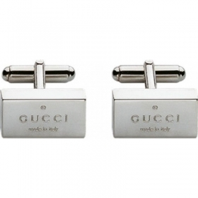 GUCCI cufflinks man shirt rectangular TRADEMARK YBE011099001