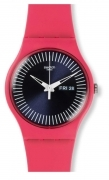 SWATCH WOMAN Watch REF.SUOP702 BERRY RAIL PINK WITH DATE AND DAY