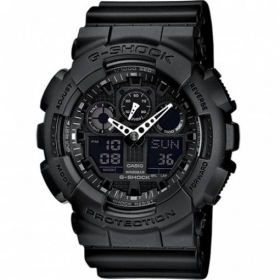 CASIO G-shock mens watch Black calendar alarm clock, shockproof, GAX-100B-1AER
