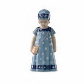 Royal Copenhagen elsa limited edition dress blue 17cm Figurines 1027404