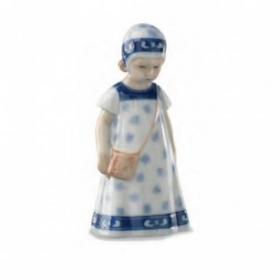 Royal Copenhagen elsa limited edition dress white 17cm Figurines 1028404