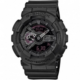 CASIO G-shock watch UOMOMission Black chrono calendar alarm GA-110MB-1AER