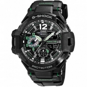 CASIO G-shock herrenuhr kompass, thermometer, GA-1100-1A3ER