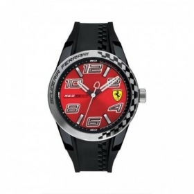 WATCH MAN TIME ONLY SCUDERIA FERRARI REDREV T FER0830335