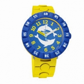 Flik Flak watch child DOLPH'IN YELLOW FCSP056