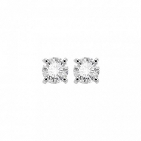 Salvini earrings white gold diamonds 0.28 ct Josephine 20056181